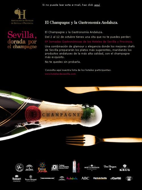 Mailing Jornadas Gastronómicas de Sevilla