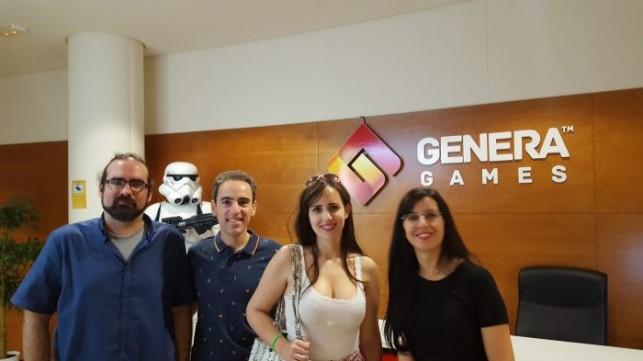 Visitando Genera Games