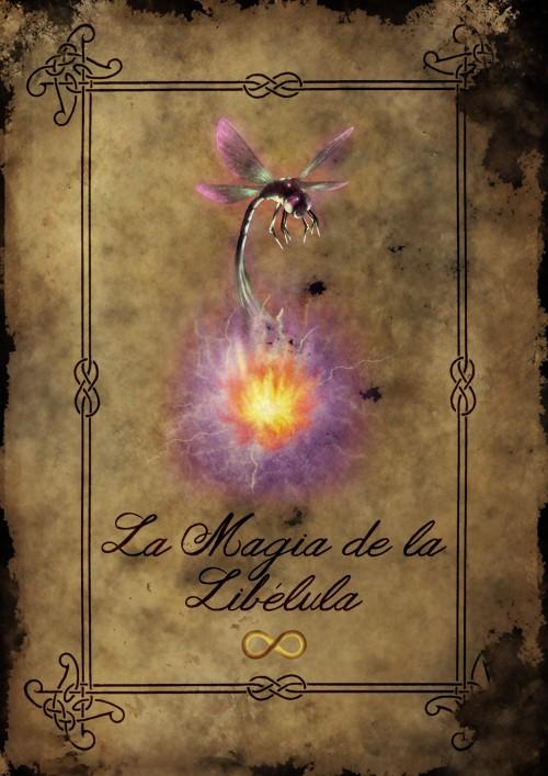 """Portada Libro """"La Magia de la Libélula"""""""