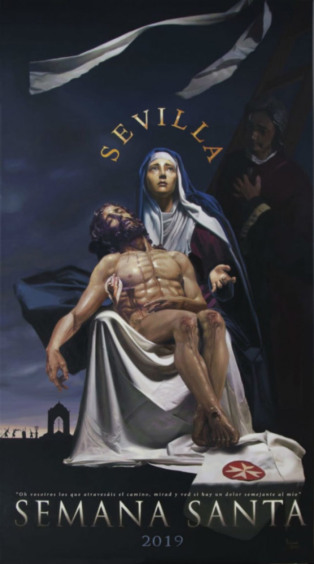 Sobre el Cartel de la Semana Santa de Sevilla 2019